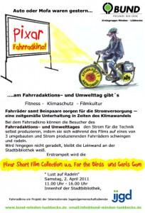 Umwelttag – Fahrradkino