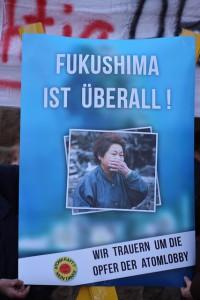200ste Fukushima-Mahnwache in Dannenberg