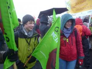 Wir haben es satt –  Demo 2012 Berlin