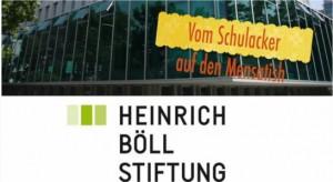 """Klima Team FWS präsentiert in der Heinrich Böll Stiftung """" Vom Schulacker auf den Mensatisch"""""""