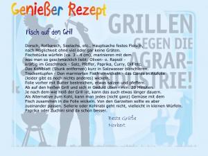 Genießer Rezept Norbert Fisch