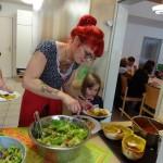 Kulinarischer Widerstand   Jasmin und Tochter