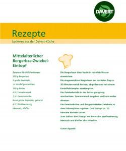 Bergerbse-Zwiebel-Eintopf