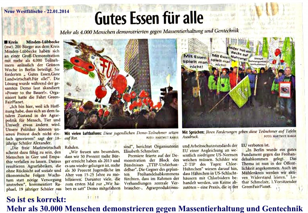 Presse NW 22.1.2014
