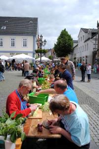 Unsere Unterstützer und Partner  am Aktionstag in Bückeburg