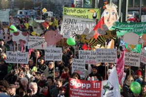 Aufruf zur Demo in Berlin für GreenFairPlanet ein voller Erfolg