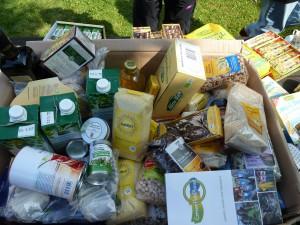 Lebensmittel für Refugee Women in Exile