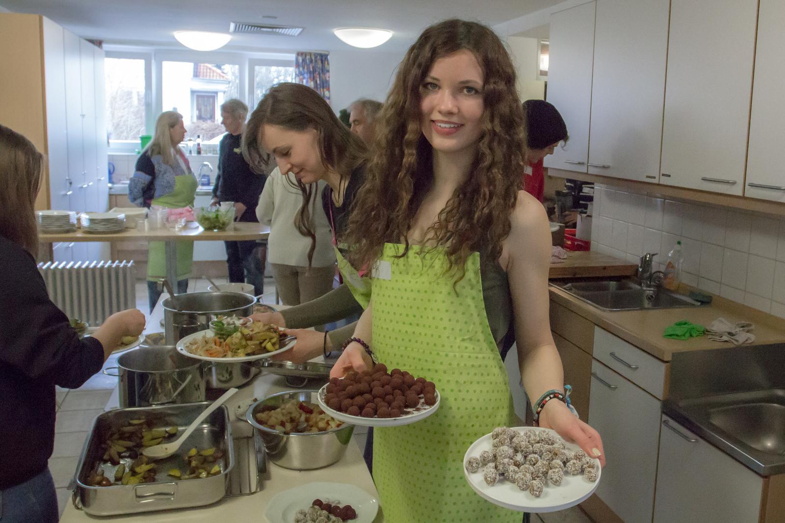 Lebensmittel retten gemeinsam kochen und Essen
