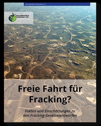 Fracking - scharfe Kritik an den Vorschlägen von Umwelt- und Wirtschaftsministerium