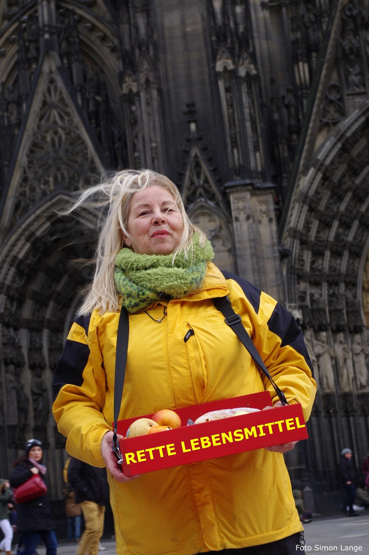 foodsharing Lebensmittel retten gegen Lebensmittelverschwendung in Köln