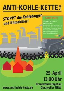 STOPPT die Kohlebagger und Klimakiller