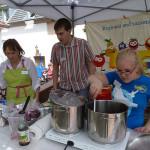 Projekt Vom Feld ins Glas heimische Früchte fördern