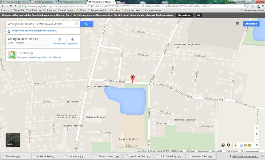 Google Maps Garten Tausendschön