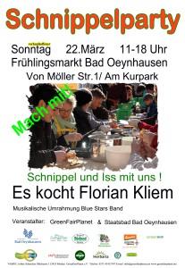 Erste Schnippelparty in Bad Oeynhausen