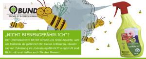 Insektengifte schädigen Bienen und viele andere Nützlinge