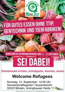 Schnippelparty – Mahlzeit für gutes Essen – ohne TTIP, Tierfabriken und Gentechnik