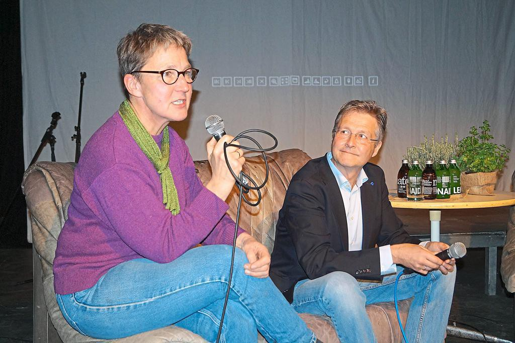 Sabine Jürß, Dr. Guido Ritter  Foto Klaus Möllers
