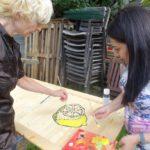 Küchentür Zitrone Tanja zeigt es