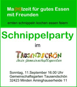 Schnippelparty