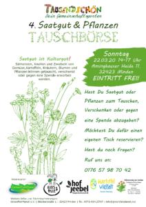 4. Saatgut & Pflanzen Tauschbörse